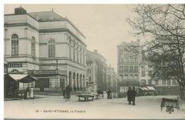 42 Loire  Saint Etienne - Le Théâtre (album1 Cpa 180) - Saint Etienne