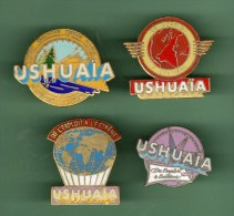 USHUAIA *** Lot De 4 Pin´s Differents *** (GC1-1) - Cities