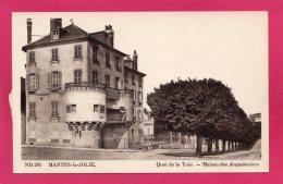 78 YVELINES MANTES-la-JOLIE, Quai De La Tour, Maison Des Arquebusiers, (CAP, Strasbourg-Schiltiguen) - Mantes La Jolie