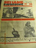 LA SEMAINE D'AVERBODE  XXIVe Année  N° 38 - 23 Septembre 1934 Le Crucifix Sanglant D'Asti - Journaux - Quotidiens