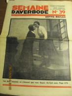 LA SEMAINE D'AVERBODE  XXIVe Année  N° 39 - 30 Septembre 1934 Départ Pour Le Congo - Journaux - Quotidiens