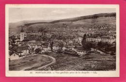 25 DOUBS PONTARLIER, Vue Générale, 1935, (Neurdein, Paris) - Pontarlier