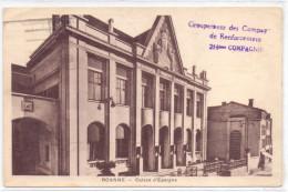CARTE POSTAL EN FM GROUPEMENT DES COMPAGNIE DE RENFORCEMENT 214 Eme COMPAGNIE ROANNE LOIR E - Oorlog 1939-45