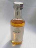 Ancienne Mignonnette Alcool : WHISKY OBAN. Buticulamicrophilie. - Miniature