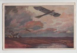Allemagne - AVIATION -  Luftstreitkräfte -  CPA Colorisée - Guerre 1914-18 - 1914-18
