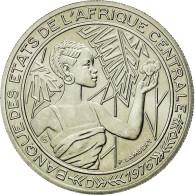 Monnaie, États De L'Afrique Centrale, 500 Francs, 1976, Paris, FDC, Nickel - Gabón