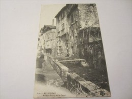 CPA FIGEAC MAISON SULLY ET LE CANAL 1904 - Figeac