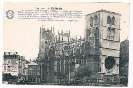 B5771   HUY : La Collegiale ( Carte Honneur Institut Saint-Joseph A Saint-Nicolas) - Huy