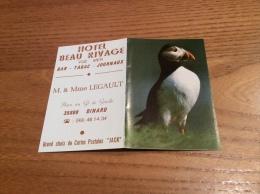 "Calendrier 1979 ""HOTEL BEAU RIVAGE DINARD (35) / ÉDITIONS JACK LOUANNEC (22) (Macareux)"" (9x12cm) - Calendriers"