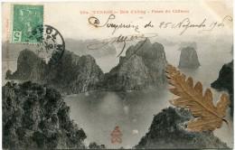 INDOCHINE CARTE POSTALE DEPART HAIPHONG 26 NOV ? TONKIN POUR HANOI - Cartes Postales