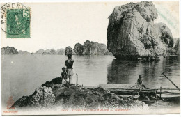 INDOCHINE CARTE POSTALE DEPART HAIPHONG 19 AOUT 07 TONKIN POUR HANOI - Altri
