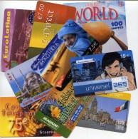 @+ Lot De 10 Télécartes Prépayées Francaises Différentes - Télécartes
