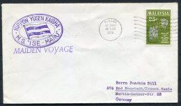 1966 Malaysia Penang NYK Japan Ship Cover M/S ISE MARU - Malaysia (1964-...)