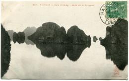 INDOCHINE CARTE POSTALE DEPART HAIPHONG 19 AOUT 07 TONKIN POUR HANOI - Autres