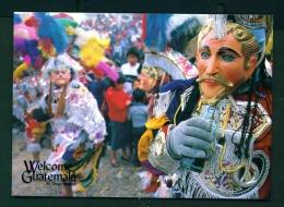 GUATEMALA  -  Baile De La Conquista   Unused Postcard - Guatemala
