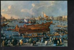 P4345 Nave, Navi Ship Bateau - DIPINTO O QUADRO Di Guardi: Partenza Del Bucintoro Il Giorno Dell´ Ascensione - Altri