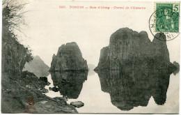 INDOCHINE CARTE POSTALE DEPART HAIPHONG 19 AOUT 07 TONKIN POUR HANOI - Postcards