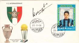 AJMAN 1968 INTER ANGELO DOMENIGHINI - Club Mitici