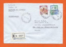 RECOMMANDEE - SANTO STINO DI LIVENZA - VENEZIA > LA CHAUX-DE-FONDS CACHET 1985 - Italia
