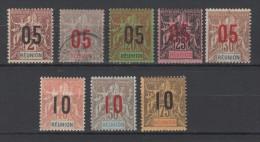 RÉUNION - N° 72 à 79 Neufs Et Oblitérés - C: 27,50 € - Unused Stamps