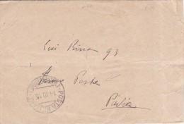 LETTERA COMPLETA  FERMO POSTA  MILITARE (VII DIVISIONE) 2 SCANNER  -FP-V-2-0882-24971-972 - Weltkrieg 1914-18
