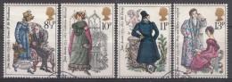 Grande-Bretagne 1975  Mi.nr.: 688-691 Geburtstag Von Jane Austen  Oblitérés / Used / Gestempeld - 1952-.... (Elizabeth II)