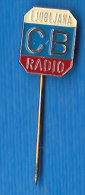 CB  Radio Ljubljana Radio Amateur Slovenia Pin - Mass Media