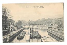 (7562-75) Paris - L'Ecluse De La Monnaie - Le Pont Des Saint Pères - Frankreich