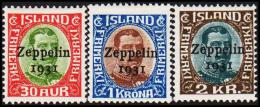 1931. Air Mail. Zeppelin. Set Of 3 (Michel: 147-149) - JF192436 - Airmail