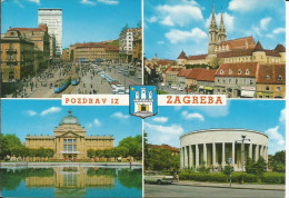 POZDRAV IZ ZAGREB (ex Yougoslavie) - Kroatië