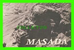 """LIVRET TOURISTIQUE DE """"MASADA"""" EN 1965 - 36 PAGES - - Tourisme"""