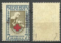 ESTLAND Estonia 1923 Michel 47 A MNH Signed MIKULSKI + K. KOKK - Estland
