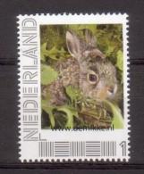 """Nederland Persoonlijke Zegel Animals Haas ; Hare, Vogelopvang """"de Mikke"""" - 2013-... (Willem-Alexander)"""