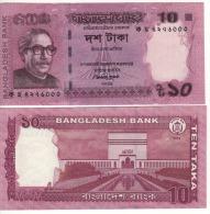 BANGLADESH   10   Taka   P54b    2013    UNC - Bangladesh