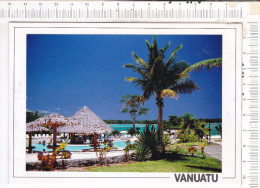 VANUATU    -  Efate  &  Port Vila    -  Carte  Double - Vanuatu