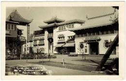 Real Photo - Ginling Way, New Chinatown, LA, Calif.