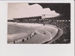 CPSM - BORDEAUX - Le Stade Municipal - Vue Intérieur - Course De Velo Velodrome - Bordeaux
