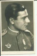 KINGDOM OF YUGOSLAVIA, SERBIA  --  LUFTWAFFE , ARMY AIR FORCE  --  PILOT, ORDEN  --  FOTO: NOVI SAD  --  POSTCARD FORMAT - Militaria