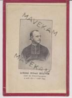 """Image Pieuse  Calais  """" Portrait De L'Abbé Alfred Bultel """" Curé Du Petit -Courgain ( 4 Aout 1871 -1 Aout 1899 ) - Images Religieuses"""