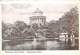 Warszawa, Ogrod Saski, Sächsischer Garten, Warschau - Pologne