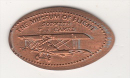 RARE THE MUSEUM OF FLIGHT  CENT,PENNY TOKEN - USA