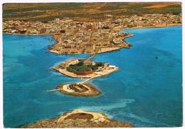 O1492 Porto Cesareo (Lecce) - Panorama Dall'aereo - Aerial View Vue Aerienne Vista Aerea / Viaggiata 1981 - Italie