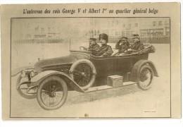 S4330 -  L' Entrevue Des Rois Georges V Et Albert 1er Au Quartier Général Belge - Guerre 1914-18