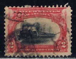US+ 1901 1902 Mi 133 138-41 144-45 Eilzug, Persönlichkeiten - Vereinigte Staaten