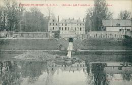 77 THORIGNY SUR MARNE / Thorigny-Dampmart, Château Des Fontaines, Lac Et Façade / - Autres Communes