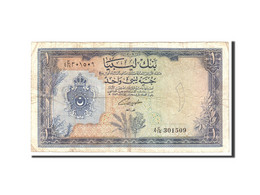 Libya, 1 Pound, 1963, KM:25, Undated, TB - Libye