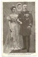 S4343 - S.M. Wilhelmine Reine De Hollande Et Son Epoux Le Prince Henri - Familles Royales
