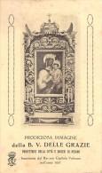 """04697 """"PESARO - B. V. DELLE GRAZIE - PROTETTRICE DELLA CITTA' E DELLA DIOCESI DI PESARO"""" IMMAG. RELIG. ORIGIN. - Images Religieuses"""