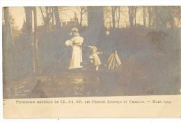 S4358 - Promenade Matinale Des Princes Léopold Et Charles - Mars 1904 - Familles Royales