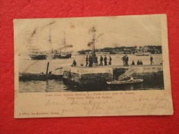 Austalia Sydney Farm Cove Port Hafen Von Sydney 1903 With Timbre And Stamp Interessant Rare++++++++ - Sydney
